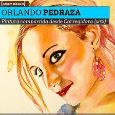 Pintura. Maité de ORLANDO PEDRAZA. Pintura compartida desde Corregidora (MÉXICO).  Leer más: http://www.colectivobicicleta.com/2013/04/Pintura-de-ORLANDO-PEDRAZA.html#ixzz2Qv2MKbXo
