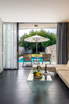 Executive Suites, Outdoor Furniture Sets, Outdoor Decor, Private Pool, Kos, Greece, Patio, Phone, Places