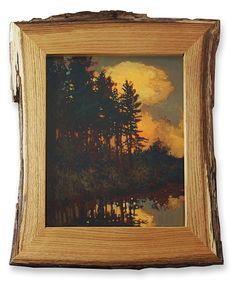 """Dusk at Hidden Pond"" oil on copper painting by Jan Schmuckal tonalist impressionist artist Art And Craft Design, Design Art, Impressionist Artists, Nature Artwork, Arts And Crafts Movement, Medium Art, Indian Art, Pottery Art, Painting Frames"