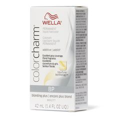 Shop for Color Charm Permanent Liquid Hair Color from Wella by Color Charm at Sally Beauty with a gentle floral fragrance. Light Ash Blonde, Ash Blonde Hair, Hair Color Developer, Platinum Hair Color, Liquid Hair, Sally Beauty, Permanent Hair Color, Vitamin E Oil, Skin Brightening