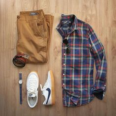 Casual but stylish! This look is by @thepacman82. Really like the addition of those Nike shoes.