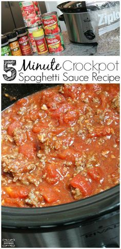 Spaghetti Sauce Recipe from Scratch! This is my favorite Pasta Recipe for a Crowd!