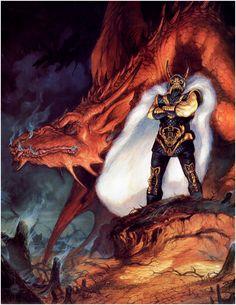 Lo que leo: Dragonlance - Larry Elmore / Jeff Easley Fantasy Book Series, Fantasy Books, Fantasy Characters, High Fantasy, Fantasy Rpg, Fantasy World, Medieval Fantasy, Fantasy Dragon, Dragon Art