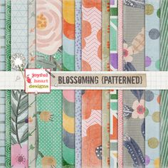 Blossoming (patterned)