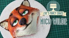 Another highly requested Zootopia cake! This time a Nick Wilde cake from the Zootopia movie. You can see my other Zootopia cake videos including Judy Hopps, . Cake Topper Tutorial, Fondant Tutorial, Zootopia Cake, Zootopia Movie, Cakes For Teenagers, Zoe Cake, Zoes Fancy Cakes, Movie Cakes, Party Fiesta