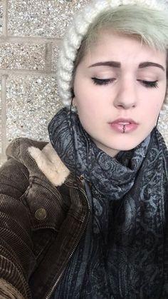 Lip piercing   Tumblr