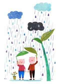 Pigs in the Rain