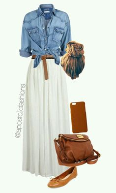 22 traditional street style looks you should own - summer fashion ideas . - 22 traditional street style looks you should own – summer fashion ideas 22 tradi - Mode Outfits, Casual Outfits, Fashion Outfits, Womens Fashion, Fashion Trends, Fashion Ideas, Casual Bags, Fasion, Long Skirt Outfits