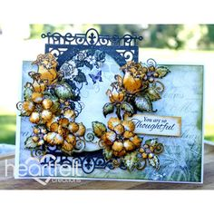 Heartfelt Creations - Thoughtful Golden Roses Project