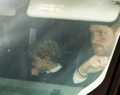 Prince Harry carpooled with his sister-in-law and nephew to a Christmas lunch at his grandmother's place on Tuesday. (That'd be Queen Elizabeth II and Buckingham Palace, mortals.) 12/16/2015