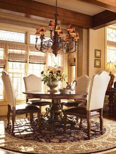 Beautiful old world table