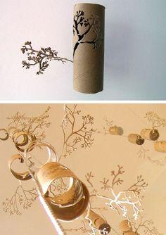 toilet roll art details