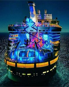 Explore the Magnificent World through Luxury Cruise – Travel By Cruise Ship Freedom Of The Seas, Harmony Of The Seas, Royal Caribbean Ships, Royal Caribbean Cruise, Royal Cruise, Cruise Travel, Cruise Vacation, Dream Vacations, Vacation Spots
