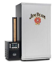 Digital Outdoor Smoker Jim Beam Bradley Outdoor Fryer Cooking Grill BBQ Tool NEW
