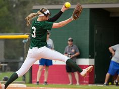 The Woodlands Lady Highlanders got another stellar pitching performance from Abby Langkamp, who allowed just two hits and struck out seven in The Woodlands 5-1 playoff victory over Montgomery on Friday night.