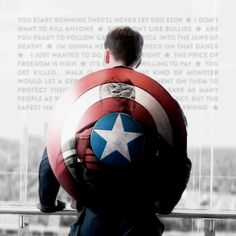 Captain America / Steve Rogers gif