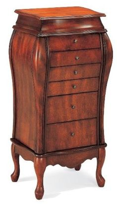beautifully crafted jewelry armoire lingerie chest coaster home furnishings httpwwwamazon amazoncom antique jewelry armoire