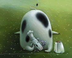 Rob Scotton, children's book illustration, contemporary British artists, graphics, illustration