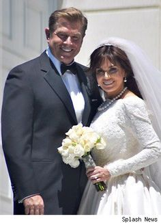 In 2011 singer and doll designer Marie Osmond, 51, remarried her first husband, Stephen Craig, 54. They have one child, Stephen, who was born in 1983. She remarried wearing the gown she wore to marry Craig in 1982. She was married to her second husband 1986-2007. They had seven children - two biological and five adopted.