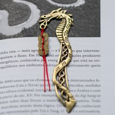 Metal – Feng shui bookmark  – a unique product by craftsforyou on DaWanda