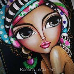 Poster Background Design, Whimsical Art, Art Sketchbook, Big Eyes, Cartoon Art, Cute Drawings, Art Pictures, Pop Art, Street Art