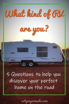 What kind of RV or caravan would you own to travel around Australia? We came up with 5 Questions to help you discover your perfect home on the road. Caravan Living, Rv Living, Holden Colorado, Caravan Renovation, Working Holidays, Pet Travel, Go Camping, Australia Travel, Going To Work