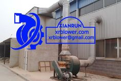 Xianrun Blower Centrifugal Fan for Inertial Dust Separator, www.lxrfan.com, xrblower@gmail.com   Inertial dust separator has two kinds, collision type and rotary type. The former is install one baffle or multichannel baffle along the flow direction, dusty air collides the baffle, then dust particles separate from the gas.