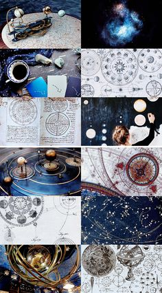 Astronomy is a core class and subject taught at Hogwarts School of Witchcraft and Wizardry. Astronomy is a branch of magic that studies stars and the movement of planets. It is a subject where the use of practical magic during lessons isn't necessary. Magical, Magic Aesthetic, Aesthetic Collage, Ravenclaw Aesthetic, Witch, Fantastic Beasts, Mood Board, Hogwarts School, Harry Potter Aesthetic