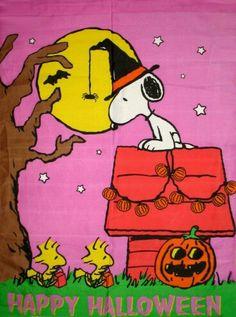 Snoopy Happy Halloween