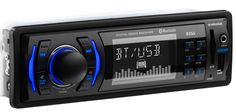 BOSS AUDIO 616UAB Single-DIN MECH-LESS Multimedia Player (no CD or DVD), Receiver, Bluetooth