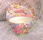 "Shelley Chintz, ""Rock Garden"" pattern......I have one of my own for a spot of tea!"