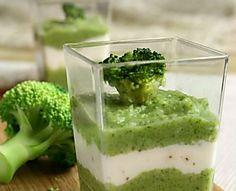 Vellutata di broccoli e caprino /CUCINA CON SARA