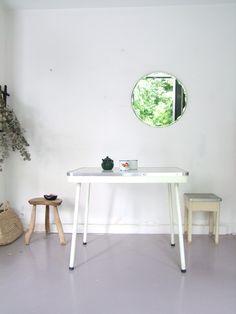 Table métal et formica
