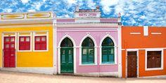 Historic center of Olinda, Brasil