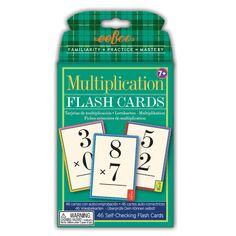 Flash Cards Multiplication| eeBoo