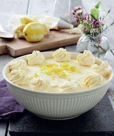 Få vores bedste opskrift og tips til en perfekt citronfromage
