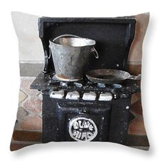 All Throw Pillows - Now Were Cooking Throw Pillow by Lovina Wright