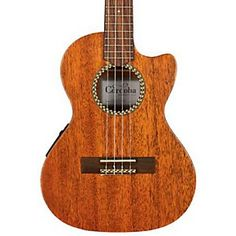 Shop for the Cordoba 20TM-CE Tenor Cutaway Electric Ukulele and receive free shipping on your order and the guaranteed lowest price.
