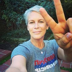 Jamie Lee Curtis supports all #LGBT Russians with a simple message: #loveconquershate.  Join the movement at loveconquershate.org.