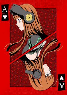 Persona Phantom Thieves of Hearts - Oracle Persona Five, Persona 5 Anime, Persona 5 Memes, Persona 5 Joker, Shin Megami Tensei Persona, Akira Kurusu, Fanart, Kawaii, Anime Manga