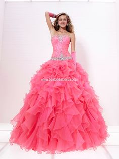 Beautiful Ball Gowns | Cheap Perfect Prom Dresses - 2012 Beautiful Ball Gown Sweetheart Neck ...