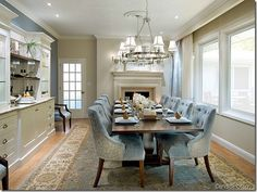 Candice Olson Dining Room