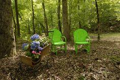 Relax in our peaceful gardens - Experience the Butterfly Effect - www.butterflycreekinntryon.com
