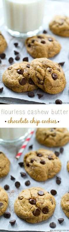 These ultimately-chewy cookies are so soft and exploding with chocolate, you'd never guess that they're completely flourless! Ready for snacking in 15 minutes with only 6 ingredients. @WholeHeavenly