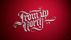 From up North by Jackson Alves, via Behance