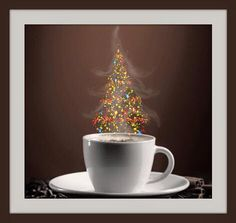 New year magic Christmas Time Is Here, Merry Christmas To All, Christmas Coffee, Cozy Christmas, All Things Christmas, Christmas 2017, Coffee Cafe, Coffee Humor, Funny Coffee