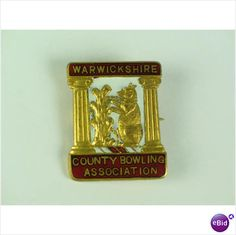 Warwickshire County Bowling Association Enamel Badge Listing in the Clubs,Club & Association Badges,Badges & Patches,Collectables Category on eBid United Kingdom