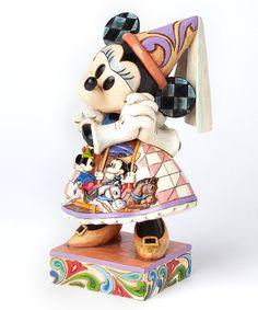 Look at this #zulilyfind! Jim Shore Disney Traditions Princess Minnie Royal Gown Figurine #zulilyfinds