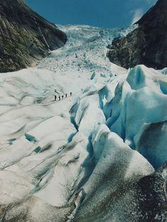 Norway, Briksdal Glacier