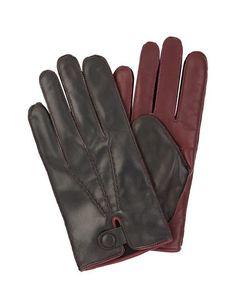 Μαύρο Βουργουνδία Οδήγηση Γάντια,, πρωτότυπο